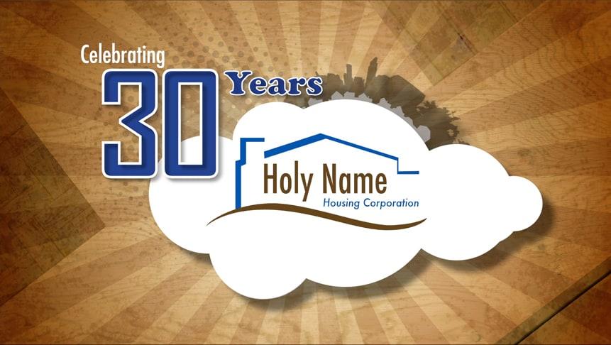 HNHC 30 Year Celebration Branding