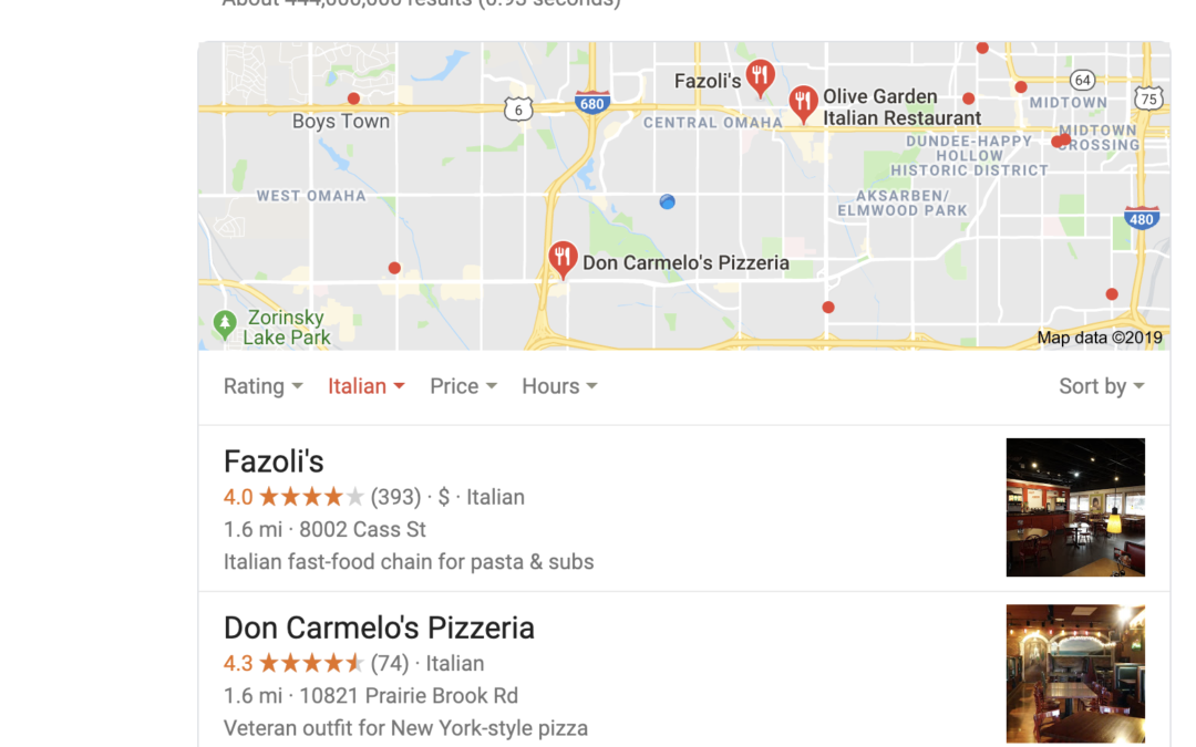 "Local Search – How to Optimize for ""The 3 Pack"""